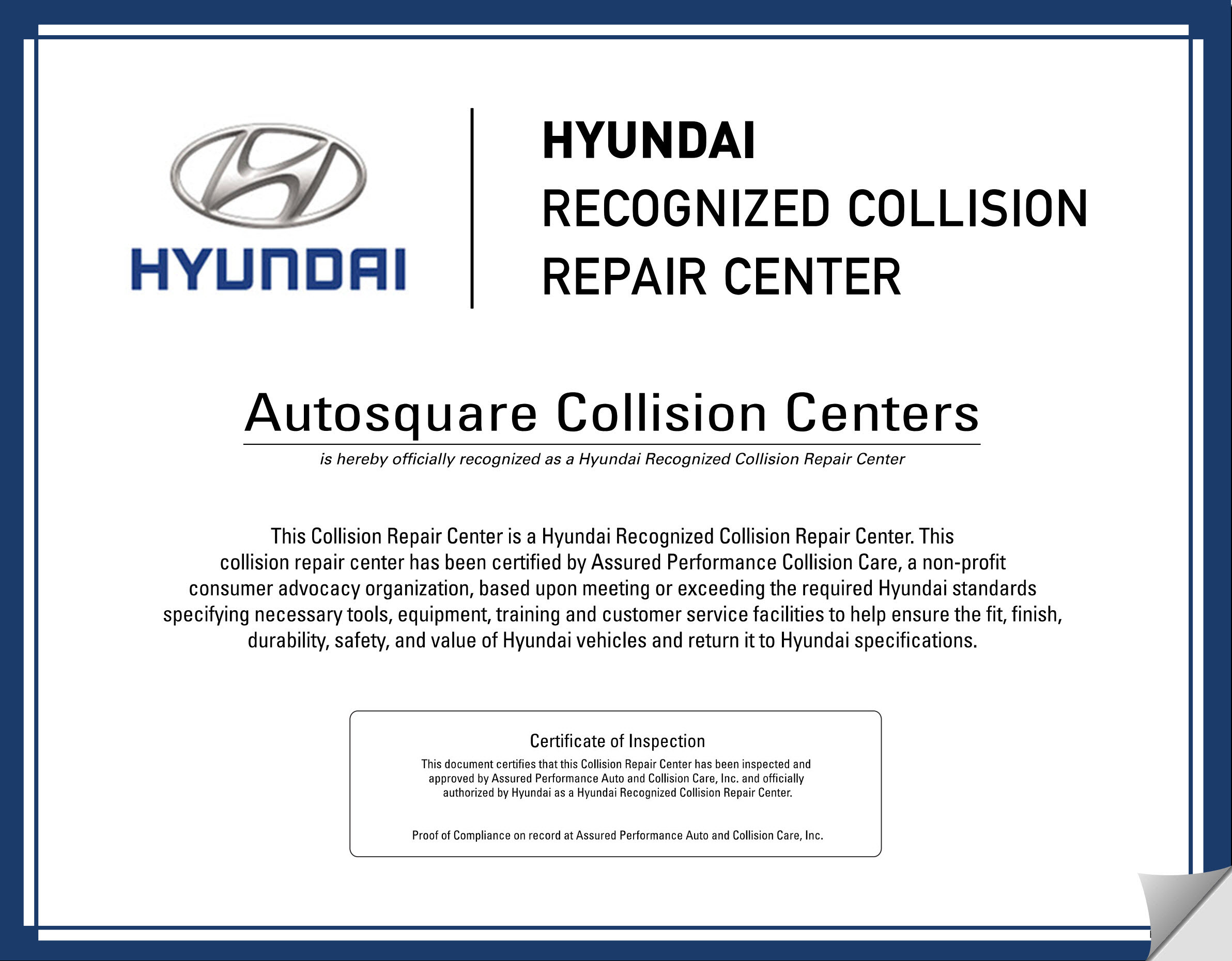 Hyundai Customer Service >> Hyundai Recognized Auto Repair Body Shop El Monte Arcadia Ca